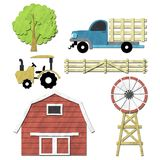 资产农场 库存图片