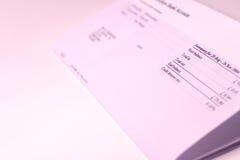 资产负债表 免版税库存照片