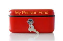 资助我的退休金 图库摄影