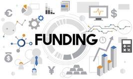 资助现金汇集经济财务资金概念 向量例证
