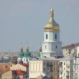 资本大教堂kyiv sophia乌克兰 免版税库存图片