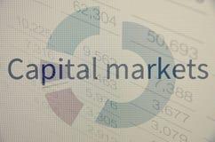 资本市场 库存图片