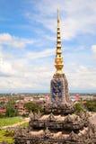 资本老挝万象 免版税库存照片