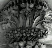 资本花卉装饰有很多 免版税库存照片