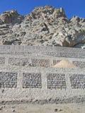 资本装备ladakh leh山 免版税库存照片
