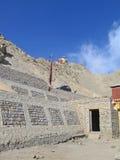 资本装备ladakh leh山 免版税图库摄影