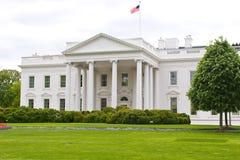 资本dc房子美国华盛顿白色 库存图片