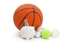 资金体育运动 免版税库存图片