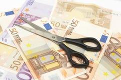 资金减少 免版税库存图片