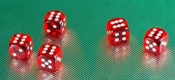 赌博娱乐场切成小方块得紧密  库存图片