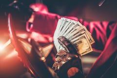赌博娱乐场困境优胜者 免版税图库摄影