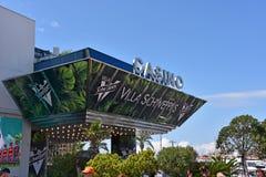 赌博娱乐场在戛纳法国 免版税库存图片