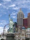 赌博娱乐场在拉斯维加斯在内华达美国 库存照片