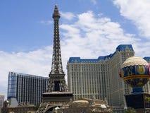 赌博娱乐场在拉斯维加斯在内华达美国 免版税库存图片