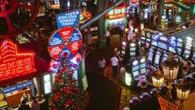 赌博娱乐场在里诺, nv 图库摄影