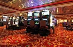 赌博娱乐场地板 免版税库存图片