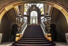 赌博娱乐场大厦,康斯坦察,罗马尼亚 图库摄影