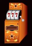 赌博娱乐场机器 免版税图库摄影