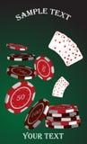 赌博娱乐场柜台 图库摄影