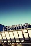 赌博娱乐场标志 免版税库存图片