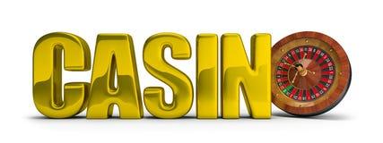 赌博娱乐场概念 库存照片