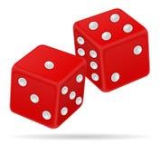 赌博娱乐场模子股票传染媒介例证 向量例证