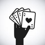 赌博娱乐场比赛 库存图片