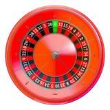 赌博娱乐场轮盘赌的赌轮 库存照片