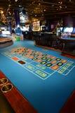 赌博娱乐场轮盘赌 库存照片