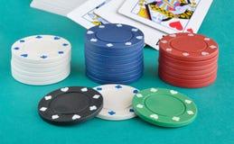 赌博娱乐场项目 免版税库存照片