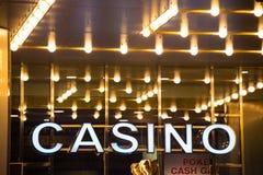 赌博娱乐场 免版税库存图片