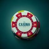 赌博娱乐场 皇族释放例证