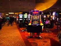 赌博的机器拉斯维加斯 免版税库存照片