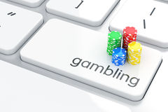 赌博的概念 库存图片