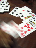 赌博的现有量行动 图库摄影