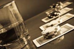 赌博的瘾 库存图片