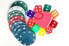 赌博的瘾 免版税库存照片