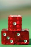 赌博的金牌 图库摄影