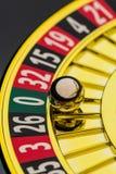 赌博轮盘赌的赌博娱乐场 图库摄影