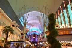 赌博霍尔和旅馆,佛瑞蒙街经验,市区,地标,市区,城市的Binion ` s 免版税图库摄影