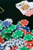 赌博 免版税库存图片