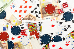 赌博 图库摄影
