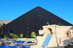 赌场酒店las卢克索维加斯 免版税库存图片