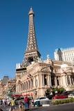 赌场酒店las巴黎维加斯 库存图片