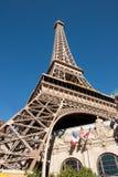 赌场酒店las巴黎维加斯 免版税库存图片
