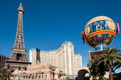 赌场酒店las巴黎维加斯 免版税图库摄影