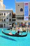 赌场酒店las手段威尼斯式的维加斯 免版税库存图片