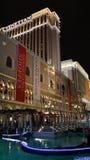 赌场酒店las手段威尼斯式的维加斯 库存照片