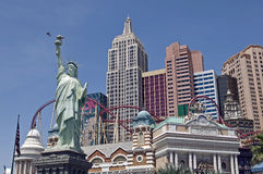 赌场酒店las新的维加斯约克 免版税库存图片