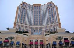 赌场酒店las palazzo维加斯 免版税图库摄影